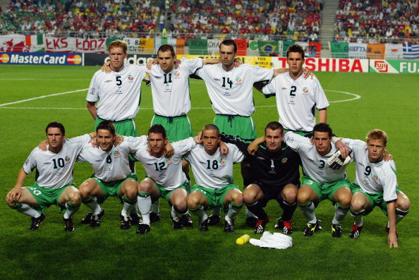 Republic of Ireland team group