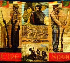 Irish soldiers and the Spanish civil war