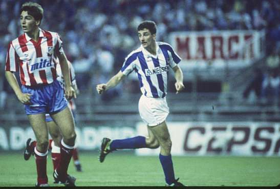 John Aldridge Real Sociedad