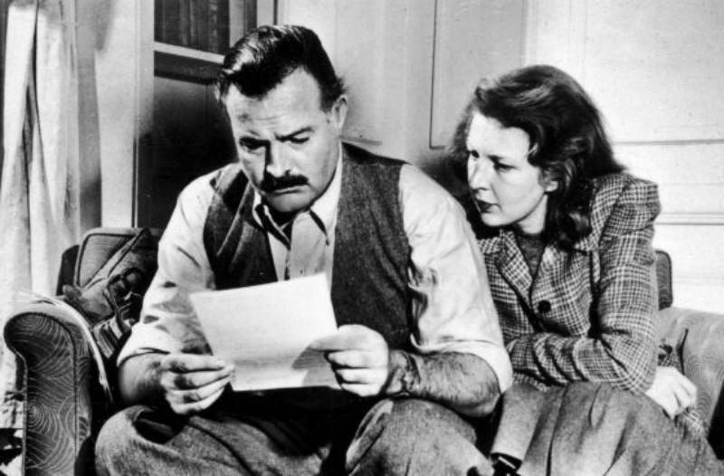 El-Madrid-soñador-de-Ernest-Hemingway-Hemingway-y-Martha-Gellhorn