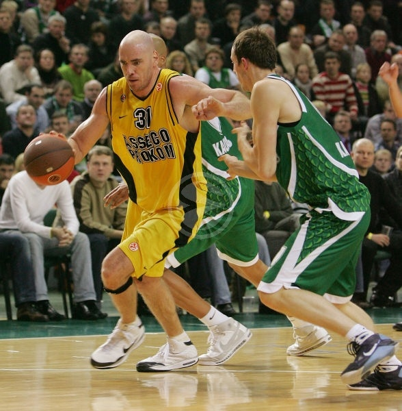 Irish Basketball Player Pat Burke
