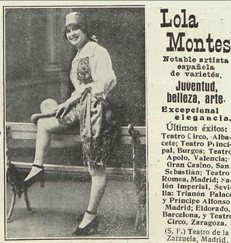 Countess Lola Montez